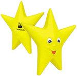 Smiling Star Stress Balls